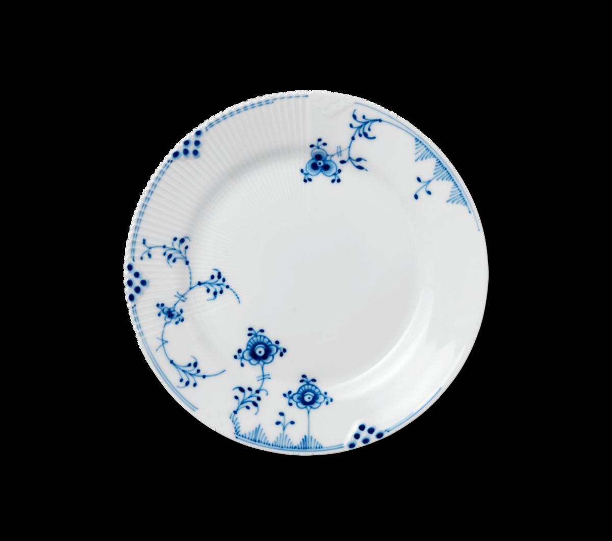 Blå Elements tallerken 22 cm