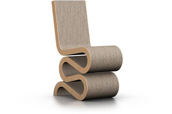Bilde av Wiggle Side Chair Vitra