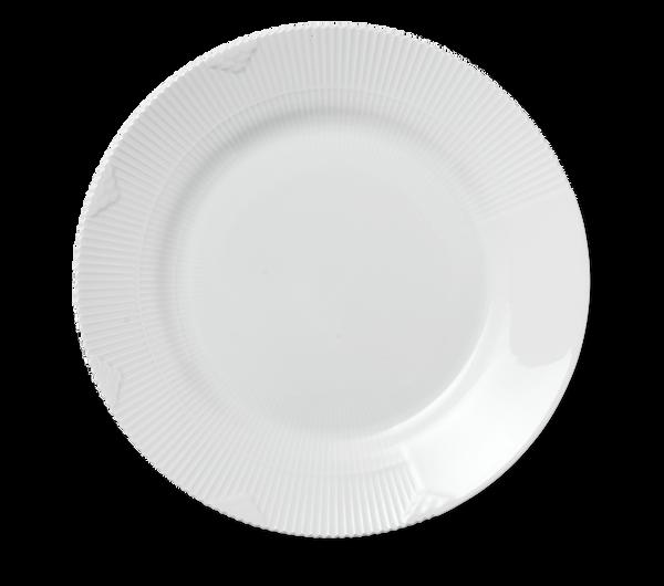 Bilde av Hvit Elements tallerken 28 cm
