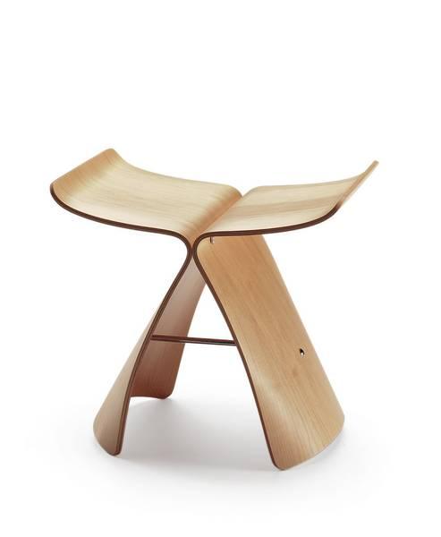 Bilde av Butterfly stool lønn Vitra