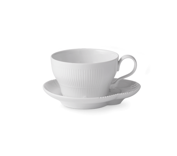 Bilde av Hvit Elements kopp og skål 26