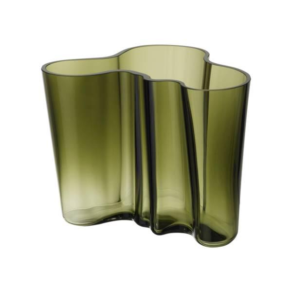 Bilde av Aalto vase 160mm Mosegrønn