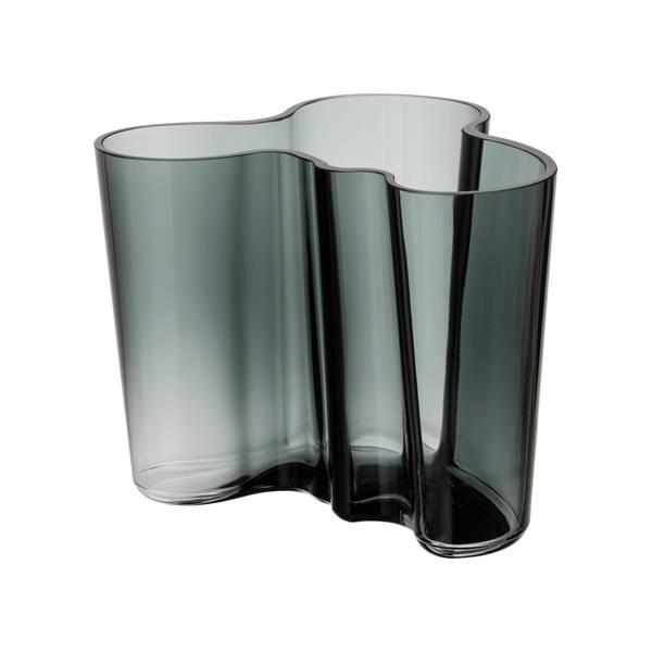 Bilde av Aalto vase 160mm Mørk-grå