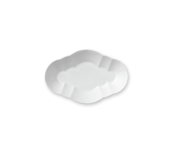Bilde av Hvit Elements fat 23 cm Royal