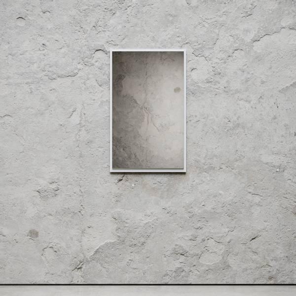 Bilde av Mirror Small hvit Nichba