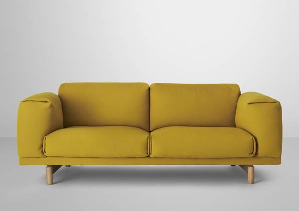 Bilde av Rest 2-seter sofa Hallingdal