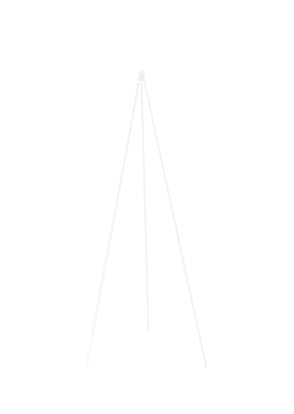 Bilde av Oslo Wood lampefot matt hvit
