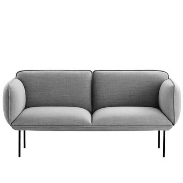 Bilde av Nakki 2-seter sofa pg3 Woud