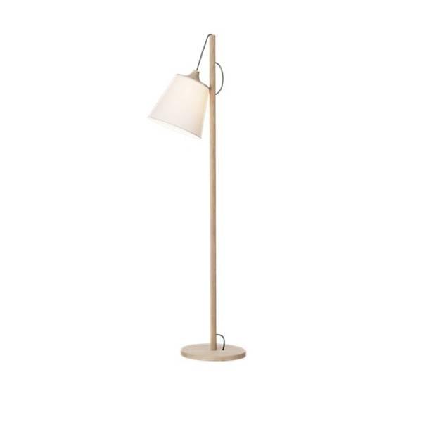 Bilde av Pull lamp Gulvlampe eik/hvit