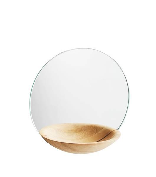 Bilde av Pocket Mirror Small eik Woud