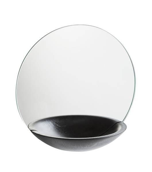 Bilde av Pocket Mirror Large sort Woud