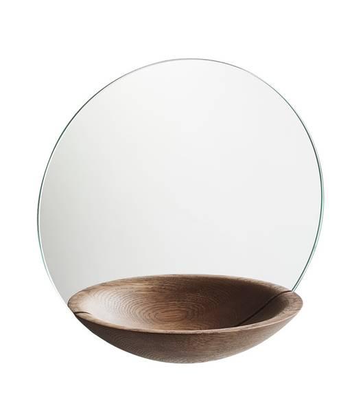 Bilde av Pocked Mirror Large røkt eik