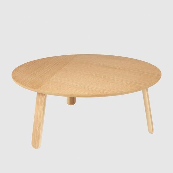 Bilde av Paper Coffee Table Ø80 Eik