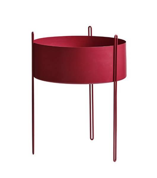 Bilde av Pidestall Flowerpot Large Rød