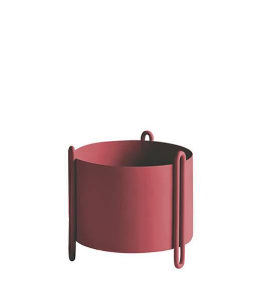 Bilde av Pidestall Flowerpot Small Rød