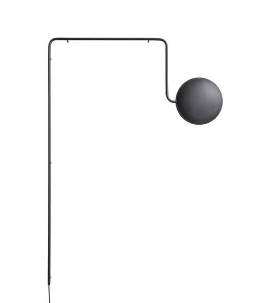 Bilde av Mercury vegglampe sort Woud