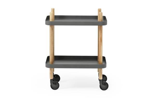 Bilde av Block Trillebord mørkegrå