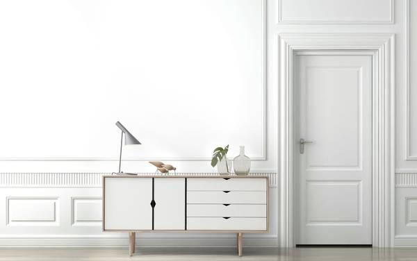 Bilde av S6 Eik/såpe - hvite fronter