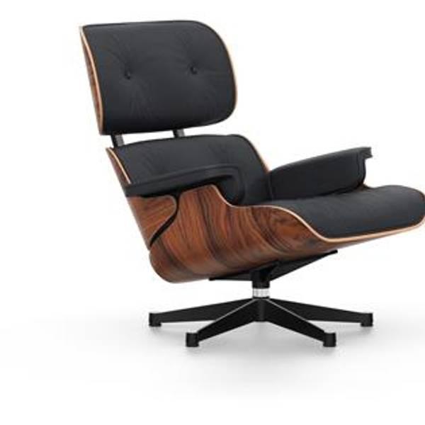 Bilde av Eames Lounge Chair Sort,