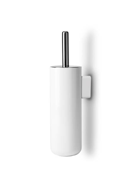 Bilde av Toilet Brush Wall Hvit Menu