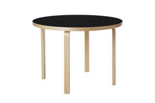 Bilde av Aalto Table 90A Bjørk/Sort