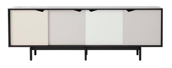 Bilde av S1 Sidebord sort lakk
