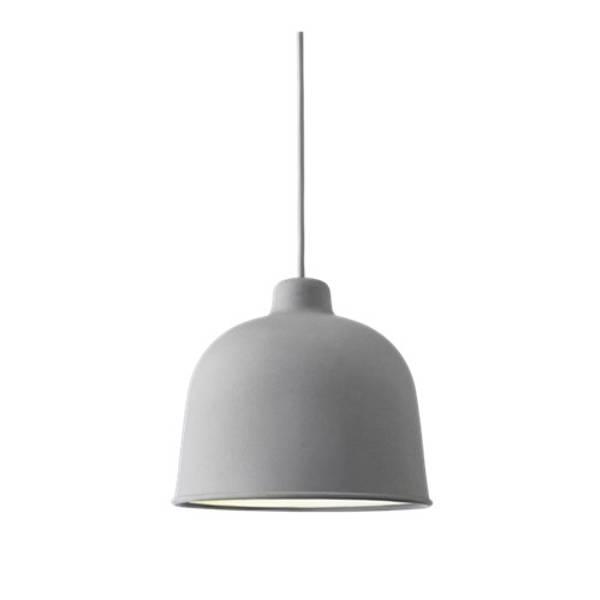 Bilde av Grain Pendant Lampe grå Muuto