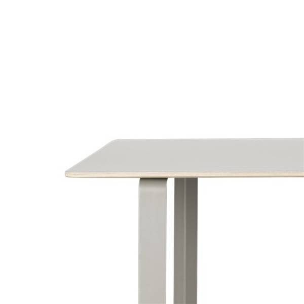 Bilde av 70/70 spisebord small grå/grå