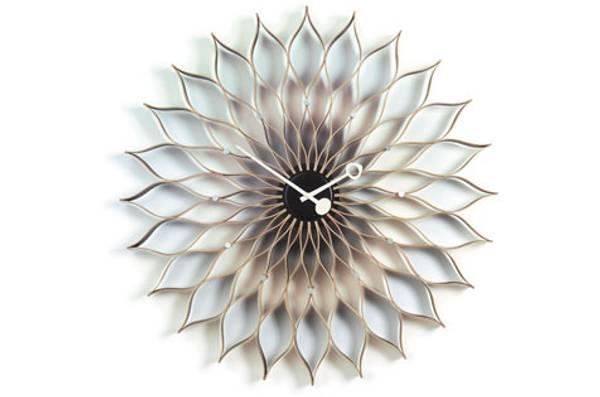 Bilde av Sunflower Clock bøk Vitra