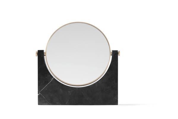 Bilde av Pepe Marble Mirror Sort Menu