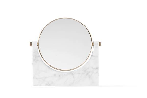 Bilde av Pepe Marble Mirror Hvit Menu
