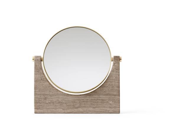 Bilde av Pepe Marble Mirror Brun/grå