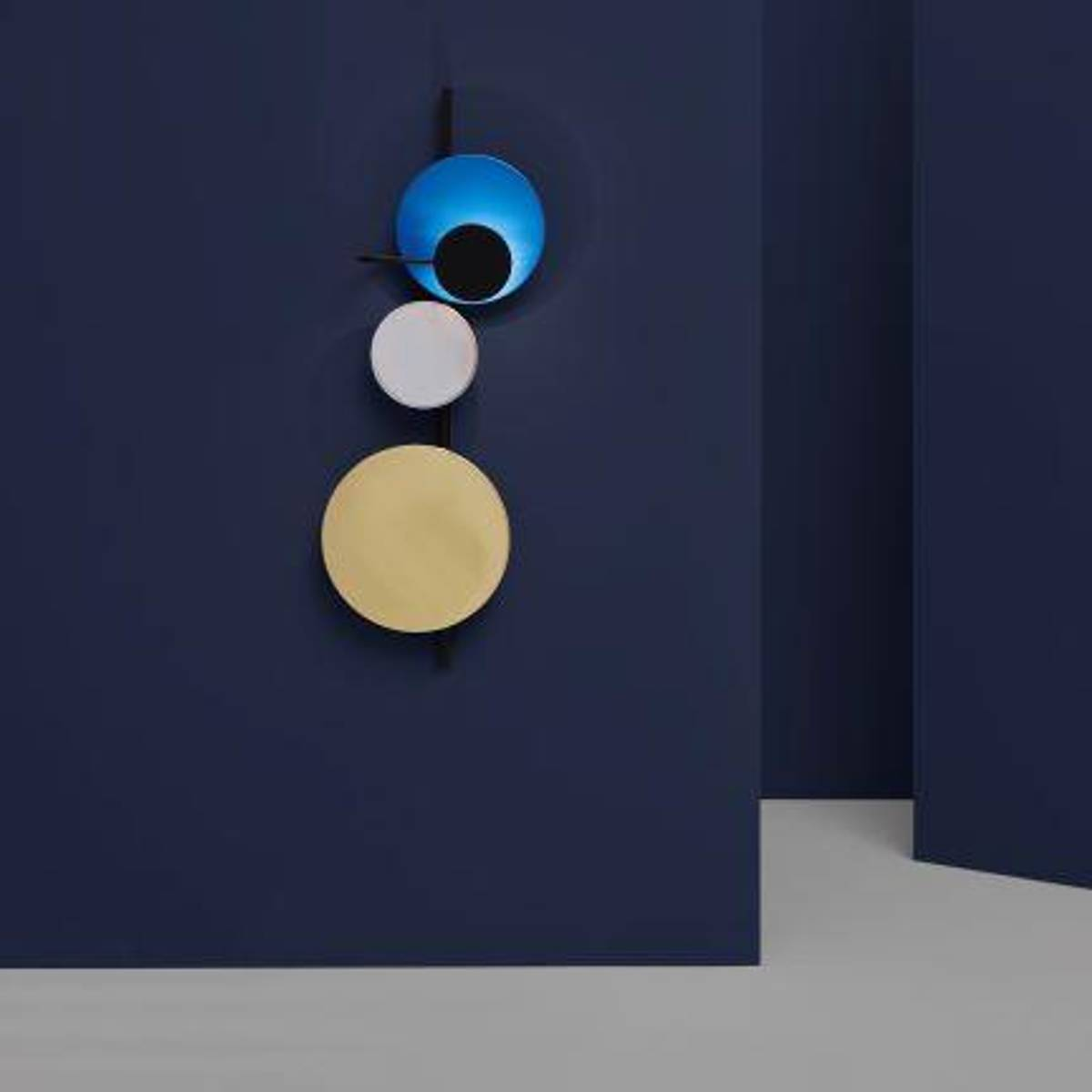 Planet Vegglampe Electric Blue, PWtbS