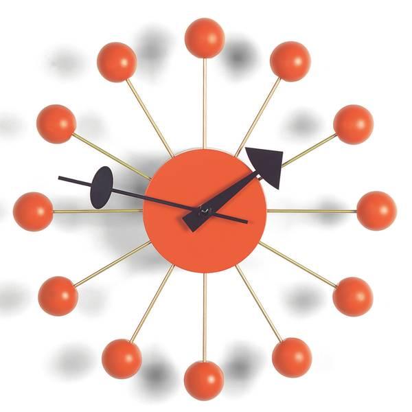 Bilde av Ball Clock orange Vitra