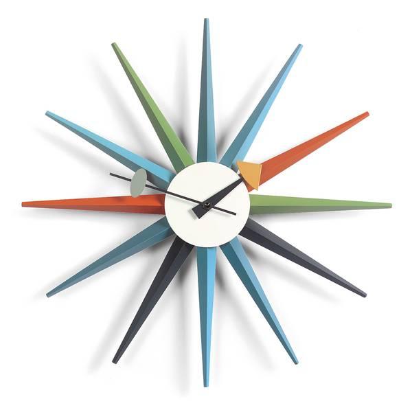 Bilde av Sunburst Clock multi Vitra