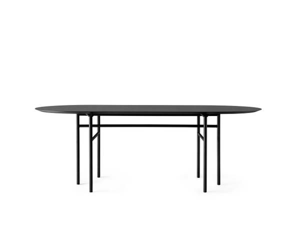 Bilde av Snaregade spisebord oval sort