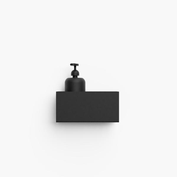 Bilde av Bath shelf 20 sort Nichba