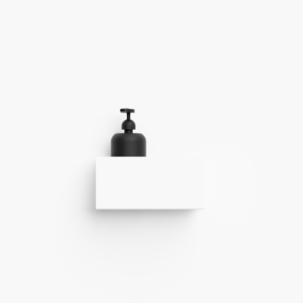 Bilde av Bath shelf 20 hvit Nichba