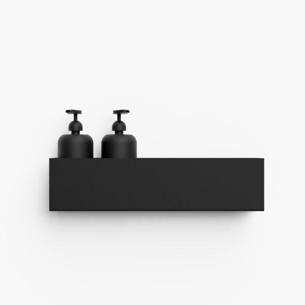 Bilde av Bath shelf 40 sort Nichba
