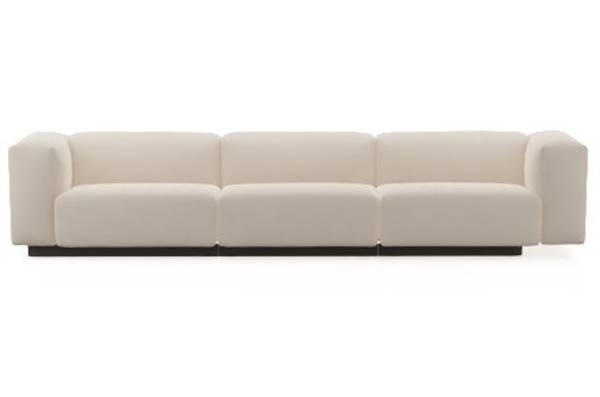Bilde av Soft Modular Sofa 3 seter høy