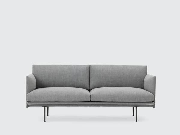 Bilde av Outline 2 seter sofa i