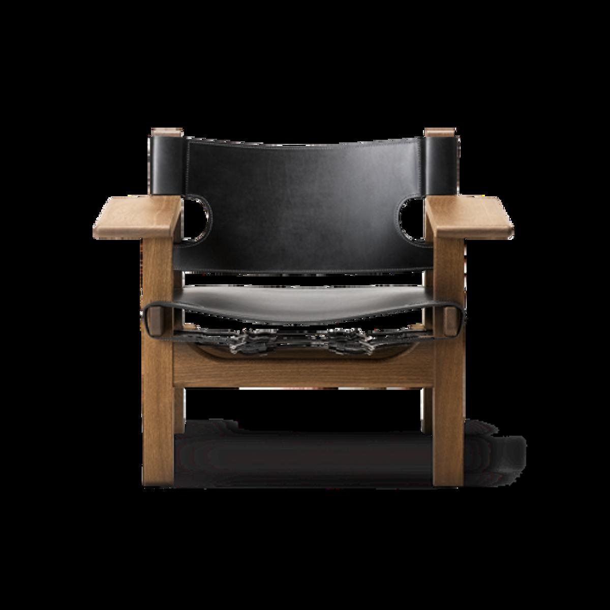 The Spanish Chair, spanskestolen sort / røkt eik Fredericia