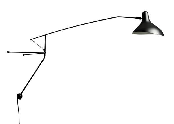 Bilde av BS2 vegglampe Black Mantis