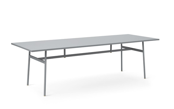 Bilde av Union spisebord grå 250*90