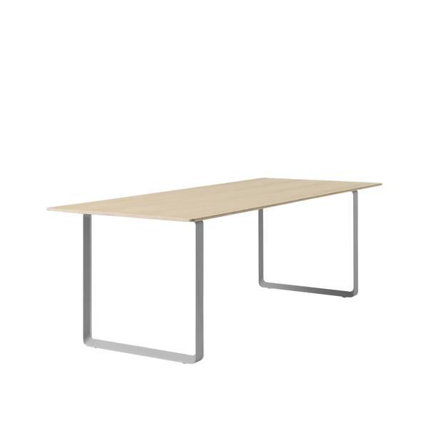 Bilde av 70/70 Spisebord large eik/grå