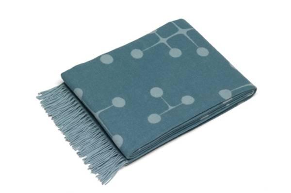 Bilde av Eames wool blanket lys blå