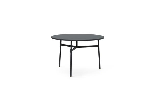 Bilde av Union spisebord sort Ø110
