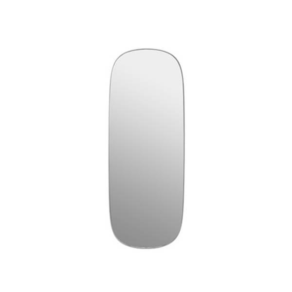 Bilde av Framed Mirror large grå/klar