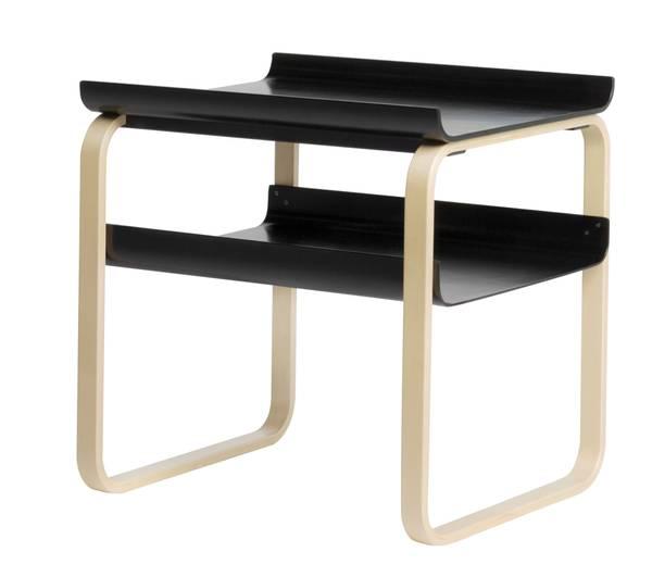 Bilde av Side Table 915 sort/ bjørk