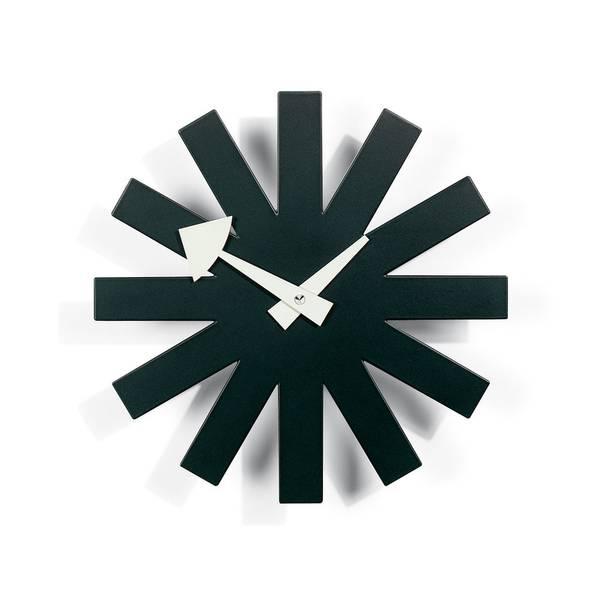 Bilde av Asterisk Clock Sort Vitra